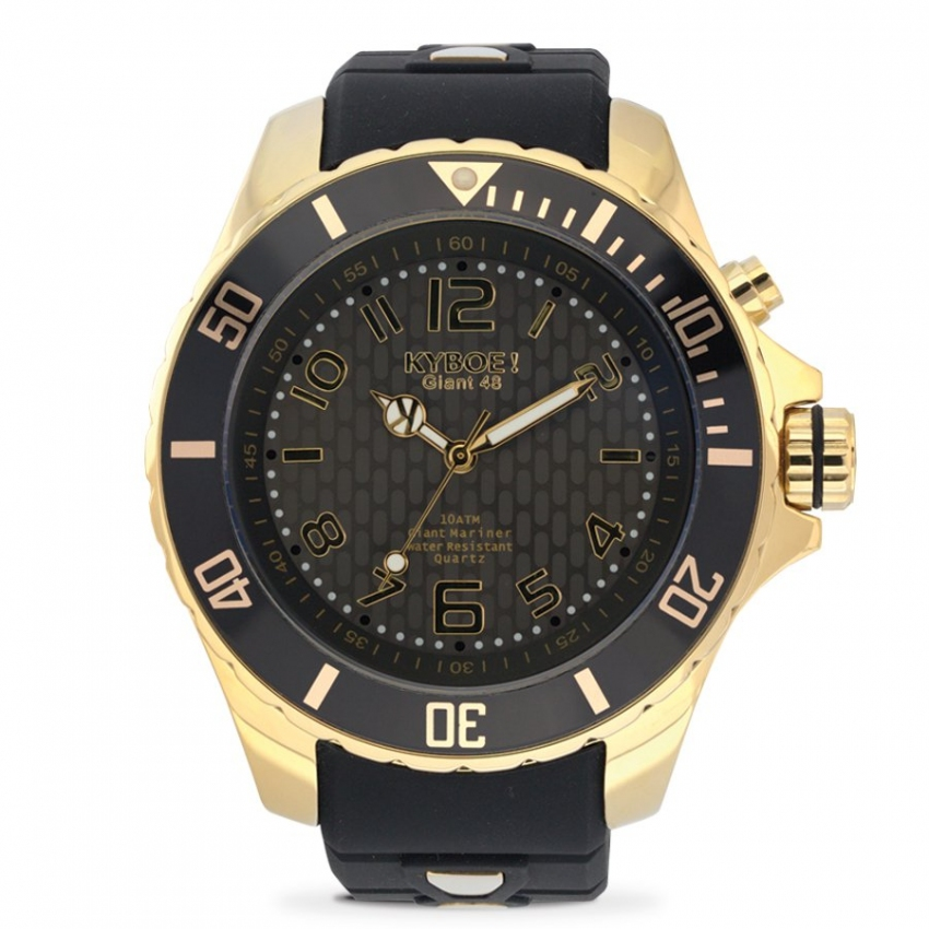 Watch Strap Black/Gold