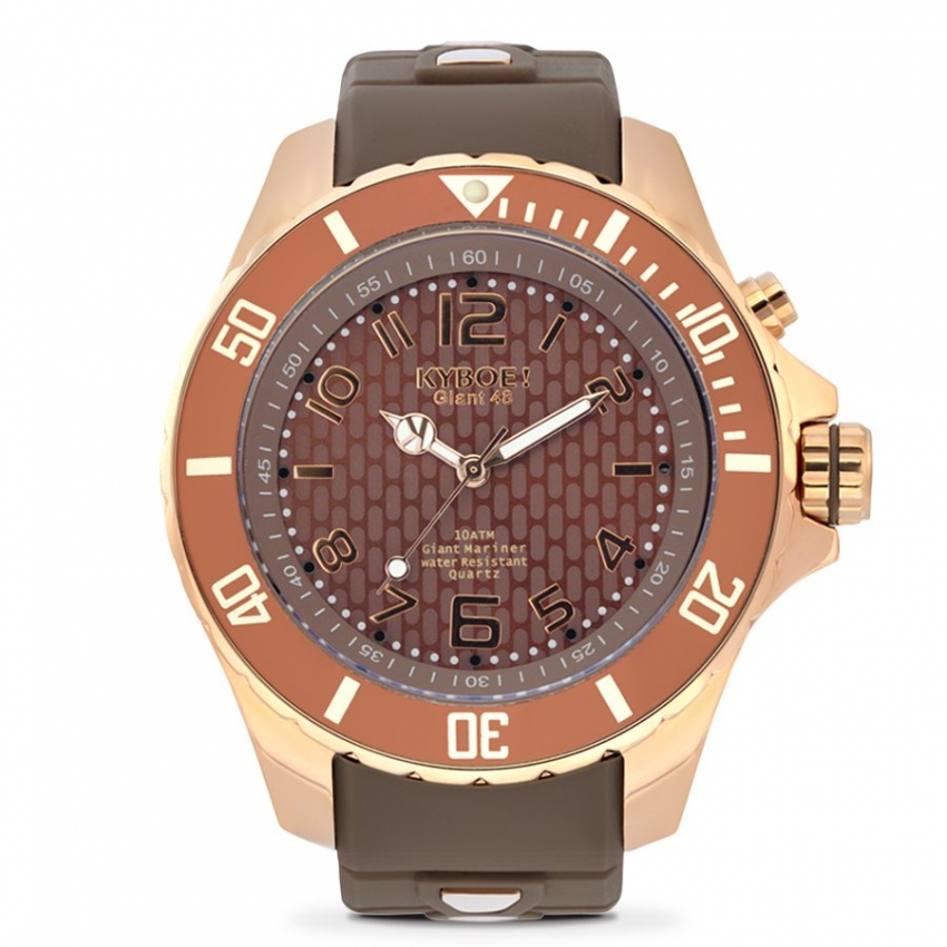 Watch Strap Brown/Rose Gold
